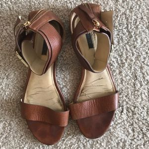 Gorgeous leather summer sandal dress up or down